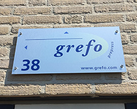 Grefo plate